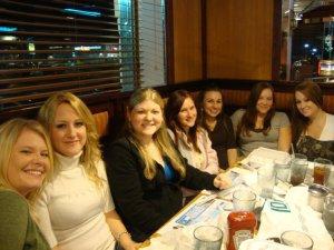 Girls Night Dinner