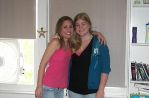 First Day of College - '08
