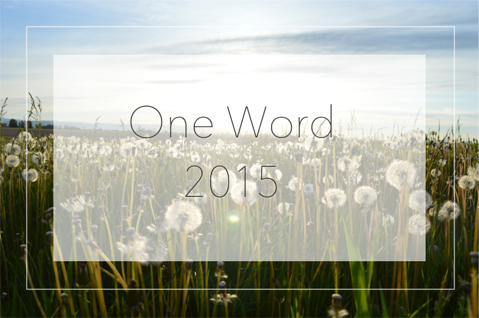 One Word 2015 Banner